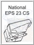 NATIONAL   EPS 23 CS