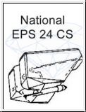 NATIONAL   EPS 24 CS