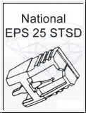 NATIONAL   EPS 25 STSD