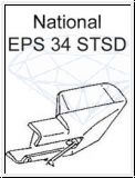 NATIONAL   EPS 34 CS