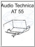 AUDIO TECHNICA   AT 55 / 55-7 D