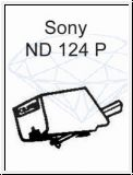 SONY   ND 124 P