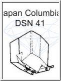 COLUMBIA   DSN 41 / DL 109 R